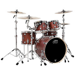 "DW Performance 20"" Tobacco Satin Oil « Batterie acoustique"