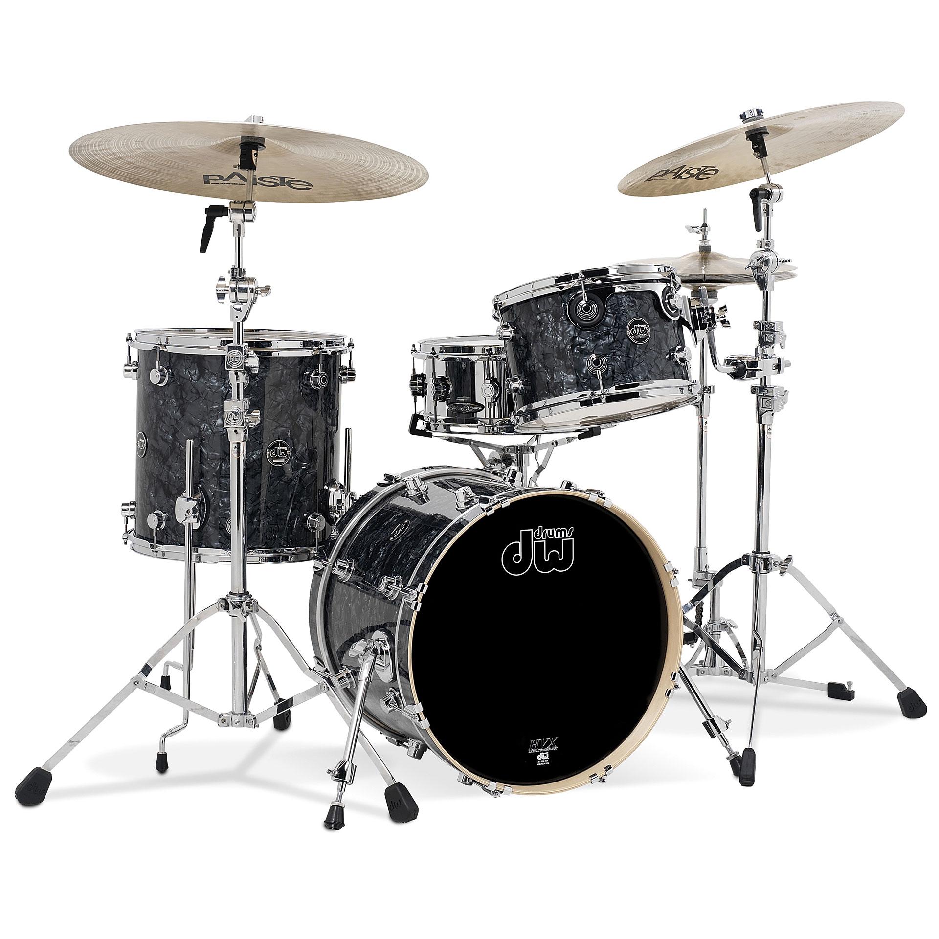 dw performance 18quot black diamond 171 drum kit