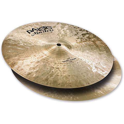 "Cymbale Hi-Hat Paiste Masters 14"" Dark HiHat"