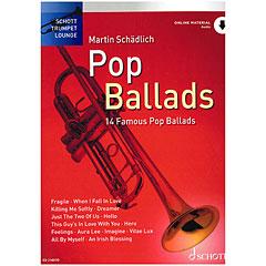Schott Trumpet Lounge - Pop Ballads « Recueil de Partitions