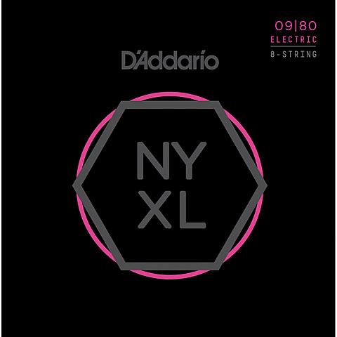 D'Addario NYXL0980 8-String Set