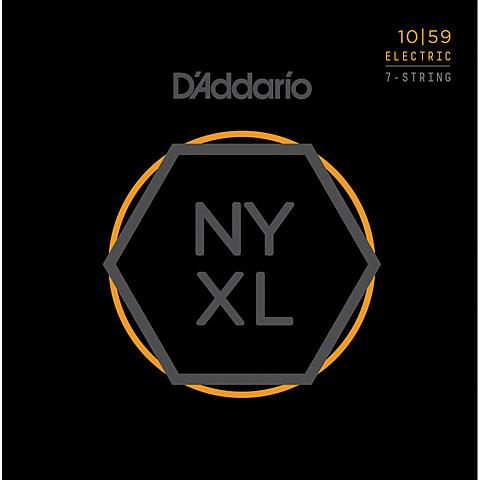 D'Addario NYXL1059 7-String Set