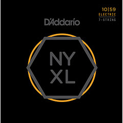 D'Addario NYXL1059 7-String Set « Corde guitare électrique