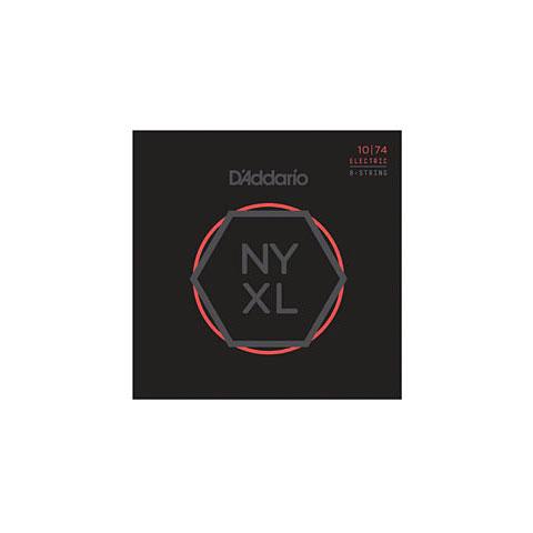 Corde guitare électrique D'Addario NYXL1074 8-String Set