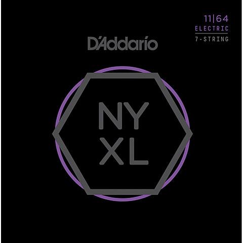 Saiten E-Gitarre D'Addario NYXL1164 7-String Set