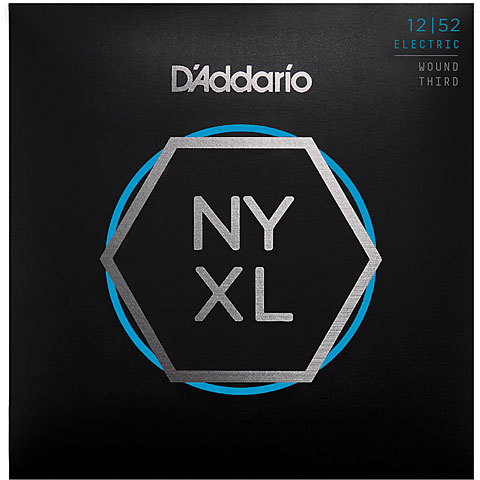 Saiten E-Gitarre D'Addario NYXL1252W Set