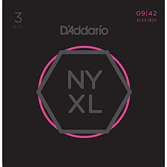 D'Addario NYXL0942-3P 3-Pack « Electric Guitar Strings