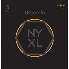 D'Addario NYXL1046-3P 3-Pack « Electric Guitar Strings