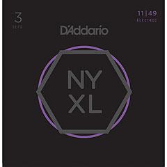 D'Addario NYXL1149-3P 3-Pack « Cuerdas guitarra eléctr.