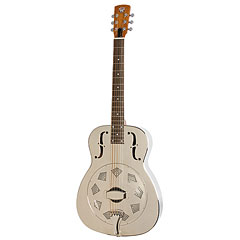 Dobro Hound Dog M-14 Metal Body Roundneck