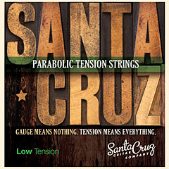Santa Cruz LowTension « Corde guitare folk