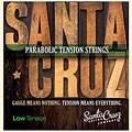 Corde guitare folk Santa Cruz LowTension