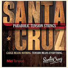 Santa Cruz MidTension « Corde guitare folk