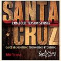 Set di corde per chitarra western e resonator Santa Cruz MidTension
