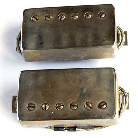 Pastillas guitarra eléctr. Bare Knuckle PG Blues Covered Set