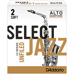 D'Addario Select Jazz Unfiled Alto Sax 2S « Reeds