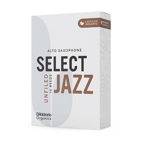 D'Addario Select Jazz Unfiled Alto Sax 3S