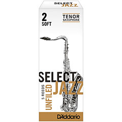 D'Addario Select Jazz Unfiled Tenor Sax 2S « Anches