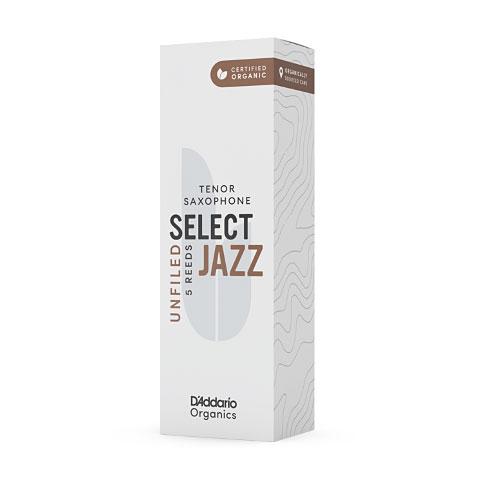 D'Addario Select Jazz Unfiled Tenor Sax 4M