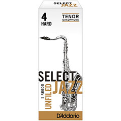 D'Addario Select Jazz Unfiled Tenor Sax 4H « Reeds