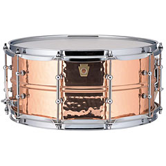 "Ludwig Copper Phonic 14"" x 6,5"" hammered « Caja"