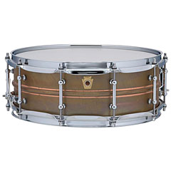 "Ludwig Copper Phonic LC661T 14""x 5"" Raw « Snare"