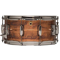 "Ludwig Copper Phonic LC663 14""x 6,5"" Raw « Caisse claire"