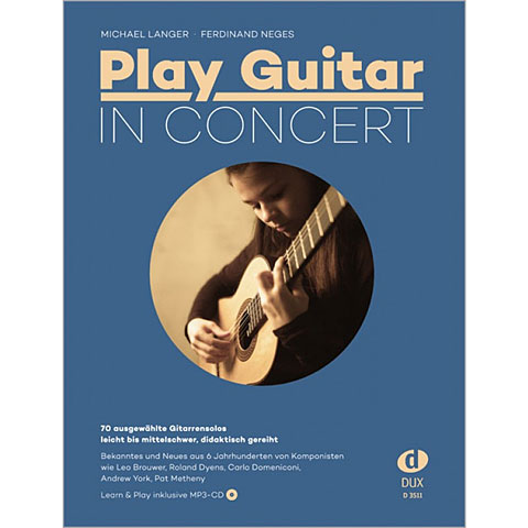 Dux Play Guitar in Concert