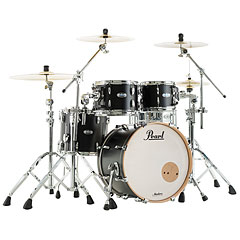 "Pearl Masters Maple Complete 20"" Matte Caviar Black « Drum Kit"