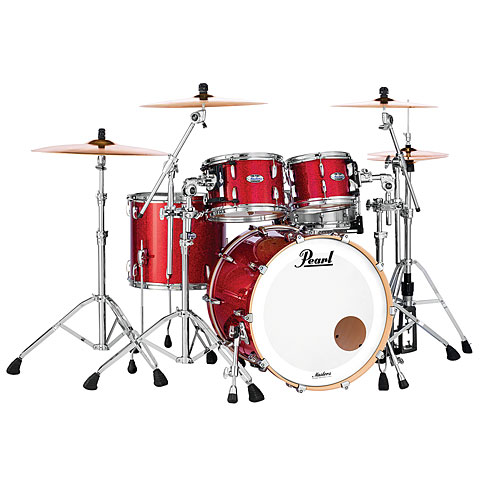 Pearl Masters Maple Complete 22  Inferno Red Sparkle