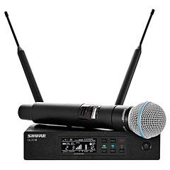 Shure QLXD24E/B58 S50 « Micrófono inalámbrico