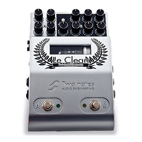 Effectpedaal Gitaar Two Notes Le Clean Dual Channel Preamp