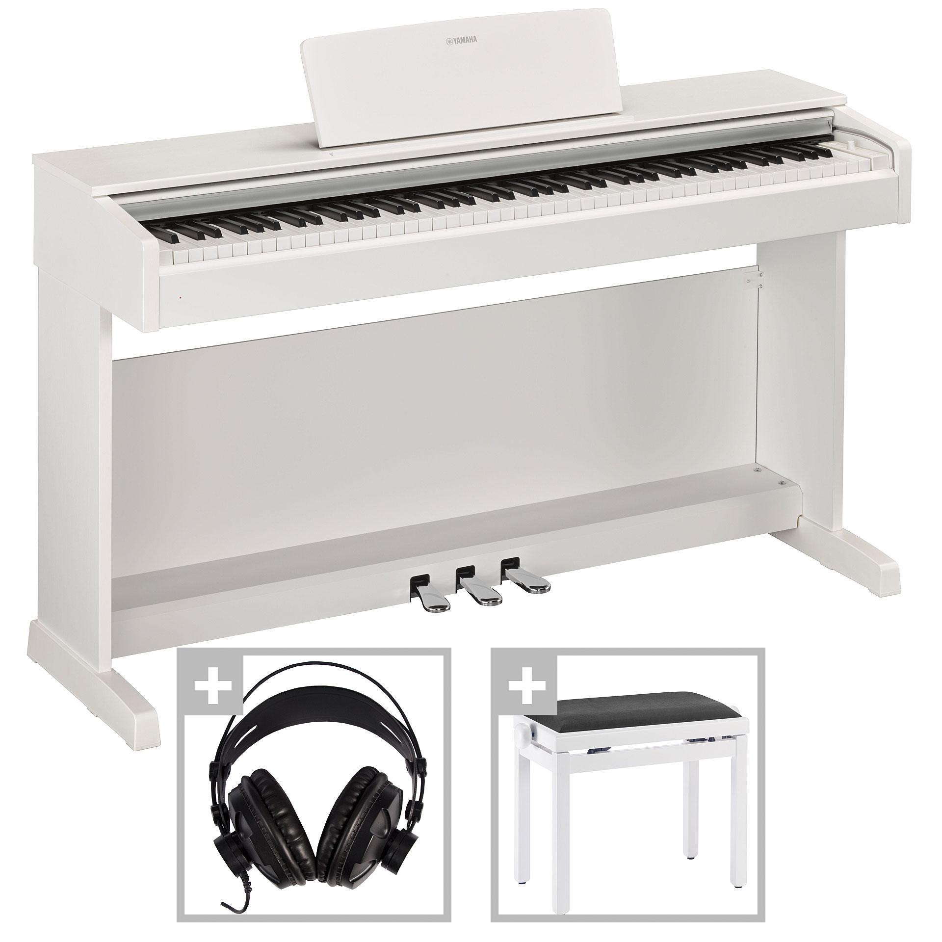 yamaha arius ydp 143 wh set digital piano. Black Bedroom Furniture Sets. Home Design Ideas