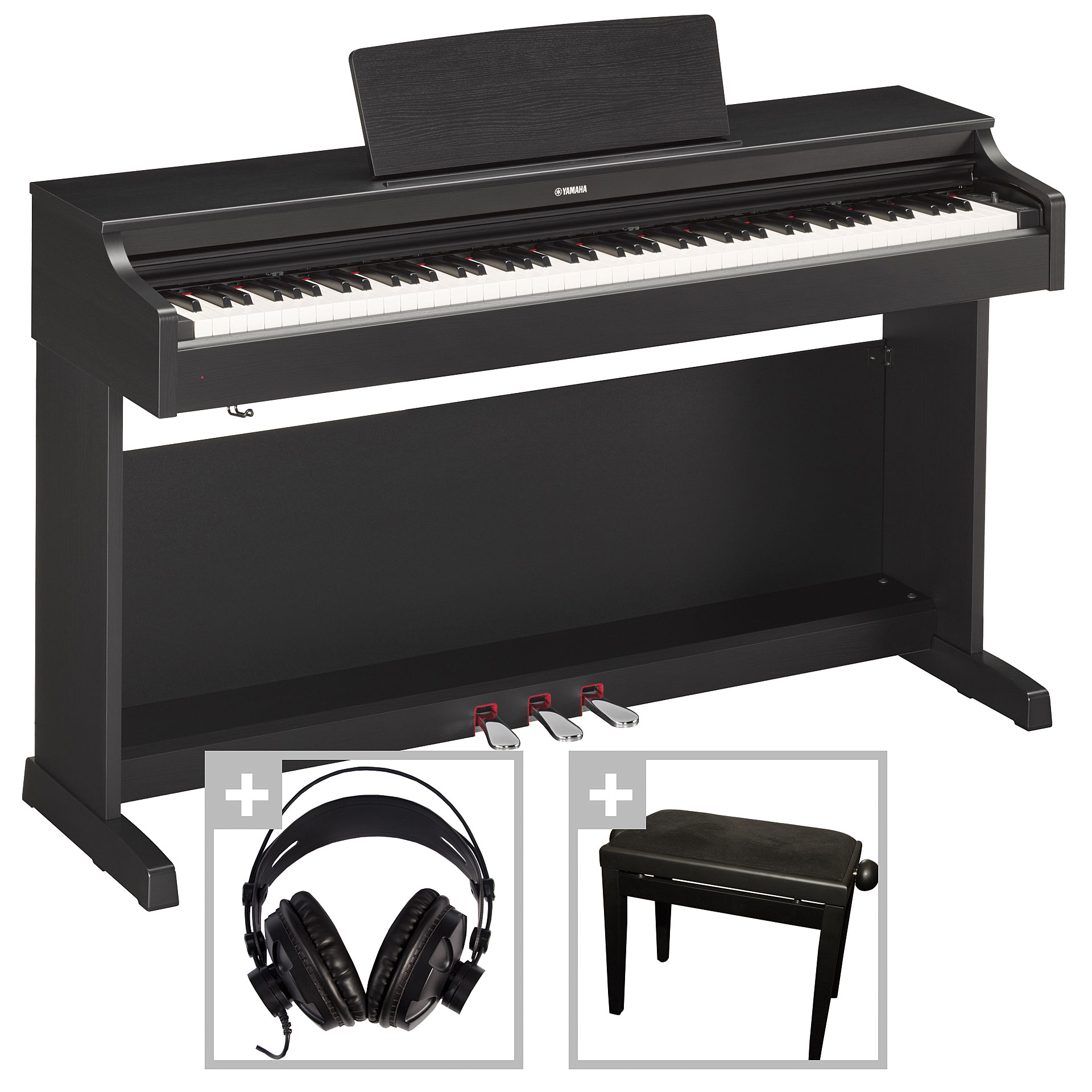 yamaha arius ydp 163 b set digital piano. Black Bedroom Furniture Sets. Home Design Ideas