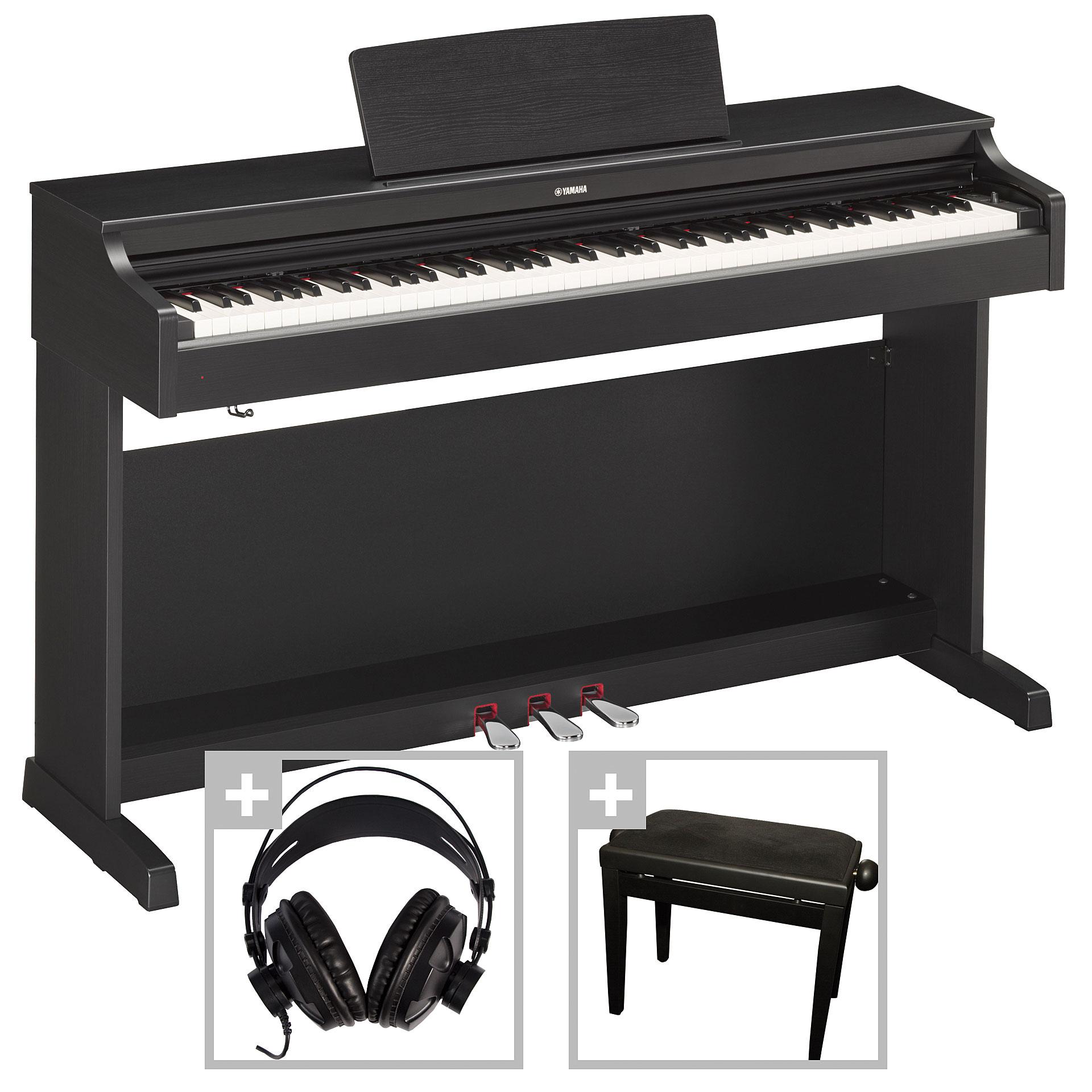 yamaha arius ydp 163 b set digital piano. Black Bedroom Furniture Sets. Home Design Ideas