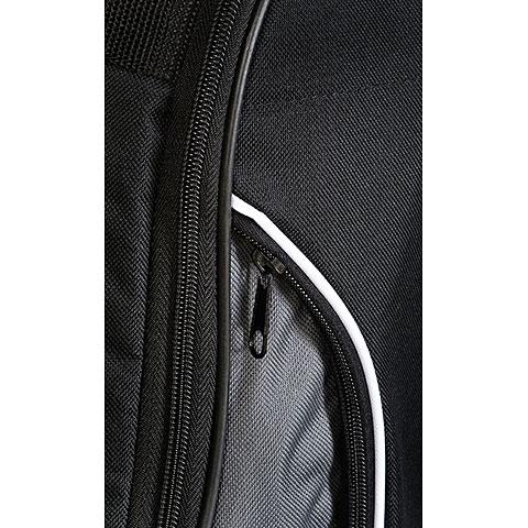 Tonträger Westerngitarre schwarz-grau Premium 25 mmGigBag für Konzertgitarre