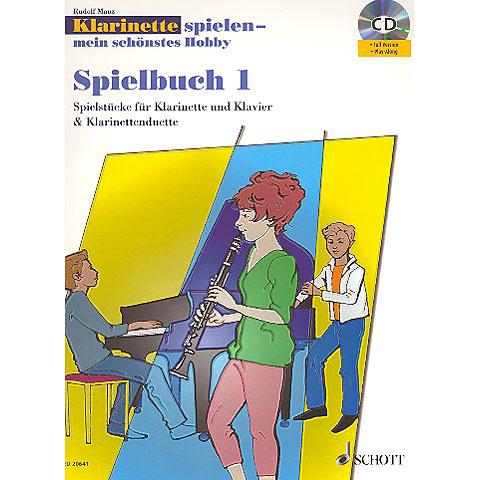 Schott Klainette spielen - mein schönstes Hobby Spielbuch 1