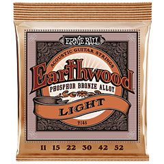 Ernie Ball Earthwood Light Phosphor Bronze 2148 .011-052 « Corde guitare folk