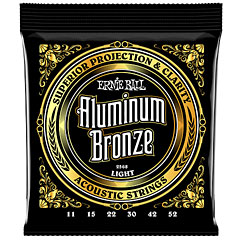 Ernie Ball Light Aluminum Bronze 2568 .011-052 « Corde guitare folk