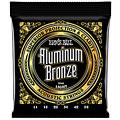 Struny do gitary akustycznej Ernie Ball Aluminium Bronze EB2568 .011-052