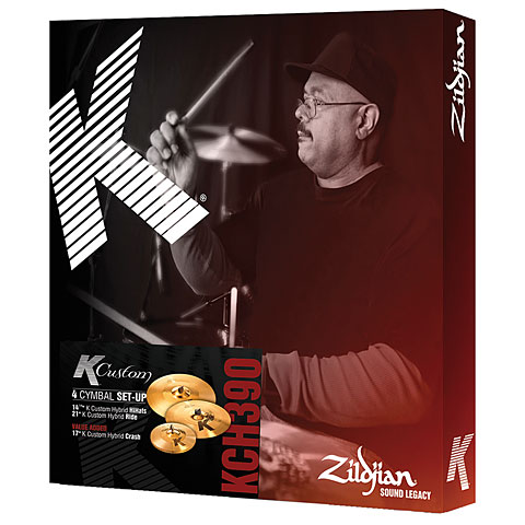 Zildjian K Custom Hybrid Box 14/17/21