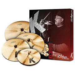 Zildjian K Custom Dark Box 14/16/18/20 « Pack de cymbales