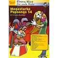 Συλλογές μουσικής Schott Megastarke Popsongs 14