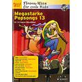 Συλλογές μουσικής Schott Megastarke Popsongs 13