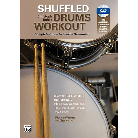 Instructional Book Alfred KDM Shuffled Drums Workout