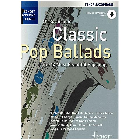 Schott Saxophone Lounge - Classic Pop Ballads