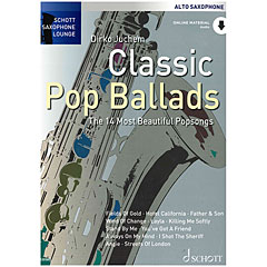 Schott Saxophone Lounge - Classic Pop Ballads Alto Sax