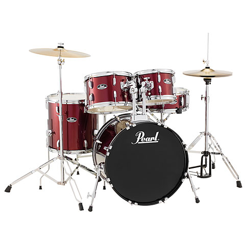 Pearl Roadshow Roadshow 20'' Red Wine Studio Kit