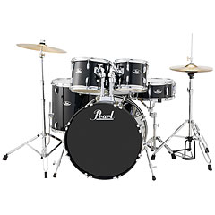 "Pearl Roadshow 22"" Jet Black Complete Drumset « Drum Kit"