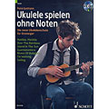 Manuel pédagogique Schott Ukulele spielen ohne Noten